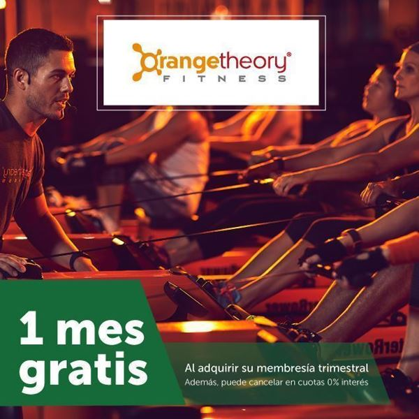 1 mes gratis en Orange Theory Fitness