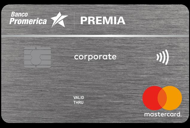 Foto de Premia Corporate Mastercard