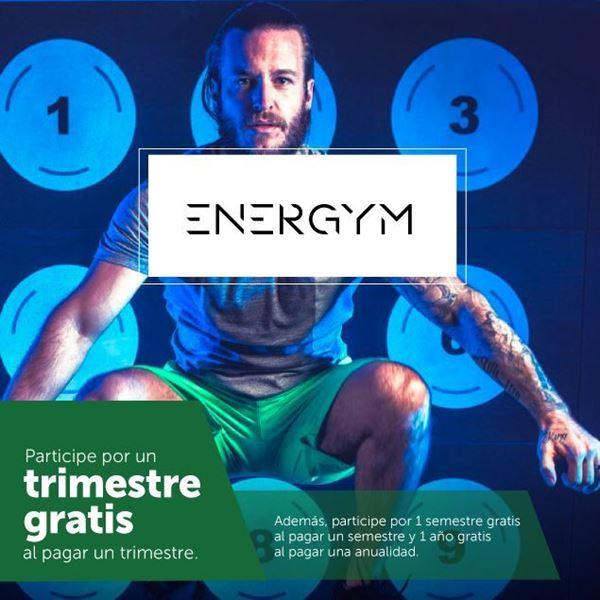 Foto de Matricule en Energym y obtenga meses gratis