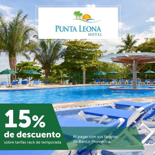 Foto de 15% de descuento sobre tarifas rack de temporada en Hotel Punta Leona