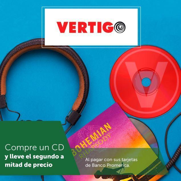 Foto de Compre un CD y lleve el segundo a mitad de precio en Vertigo