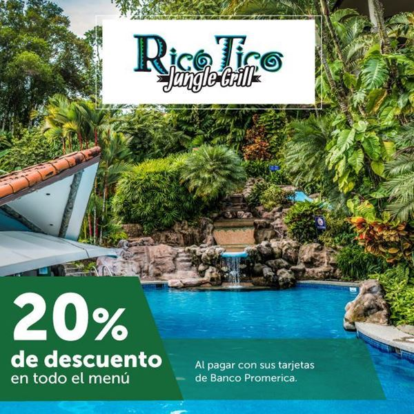 Foto de 20% de descuento en todo el menú en Restaurante Rico Tico