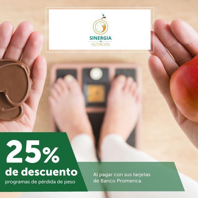 Foto de 25% de descuento en Sinergia Nutrición