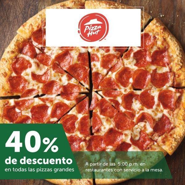 Foto de 40% de descuento en Pizza Hut