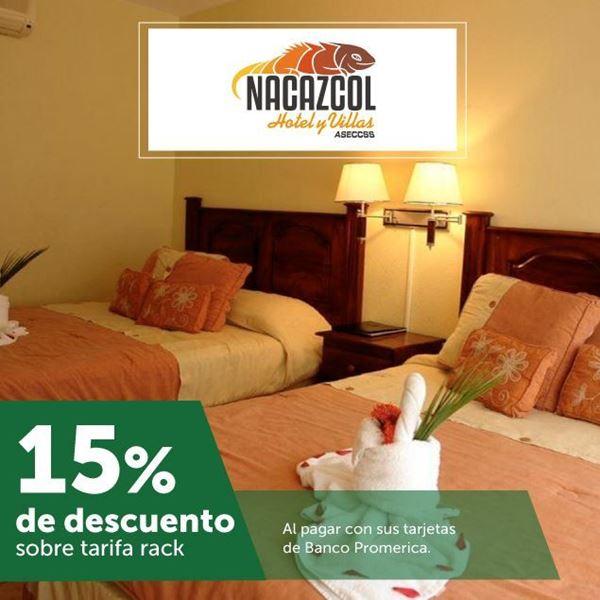 Foto de 15% de descuento en Hotel y Villas Nacazcol