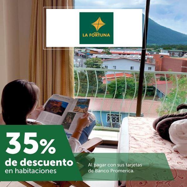 Foto de 35% de descuento en Hotel la Fortuna