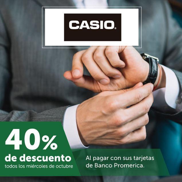 Foto de 40% de descuento en Casio