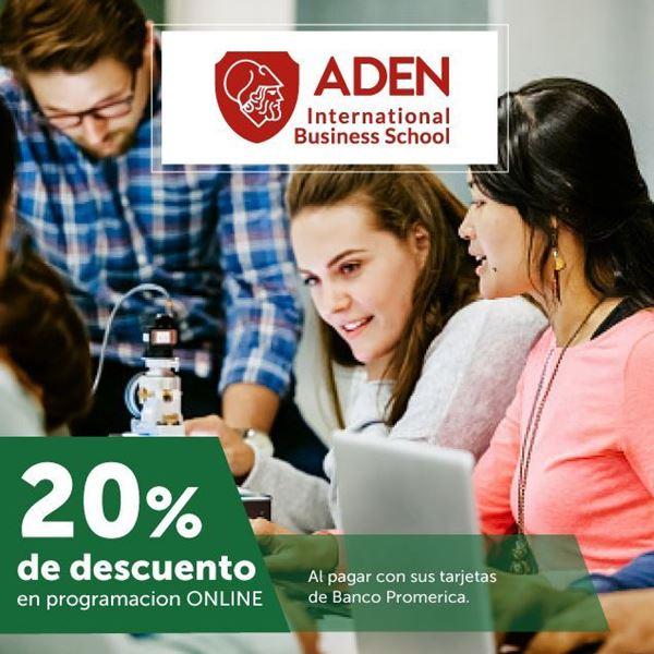 Foto de 20% de descuento en ADEN