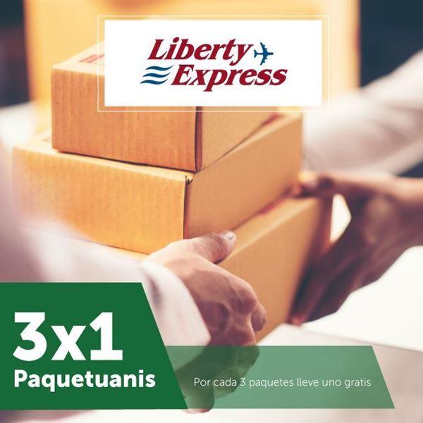 Foto de 3 x 1 en paquetuanis de Liberty