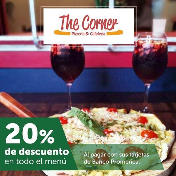 Foto de 20% de descuento en The Corner Pizza