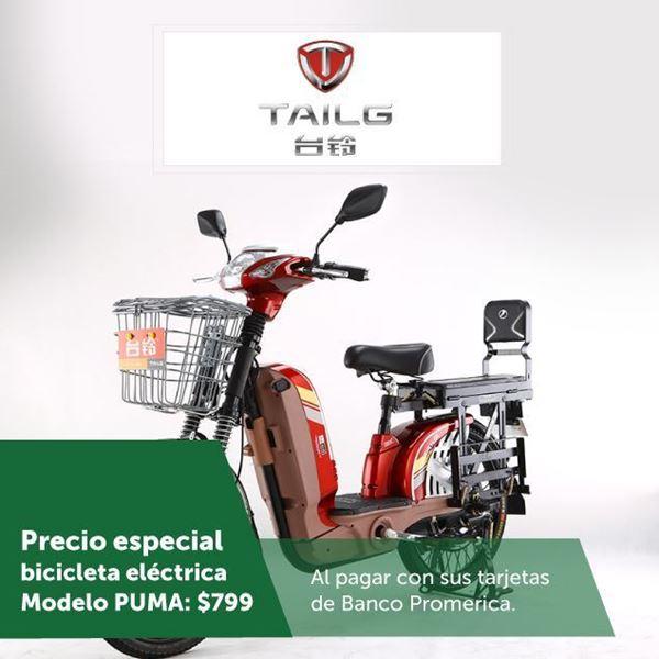 Foto de Precio especial en bicicleta eléctrica en TAILG