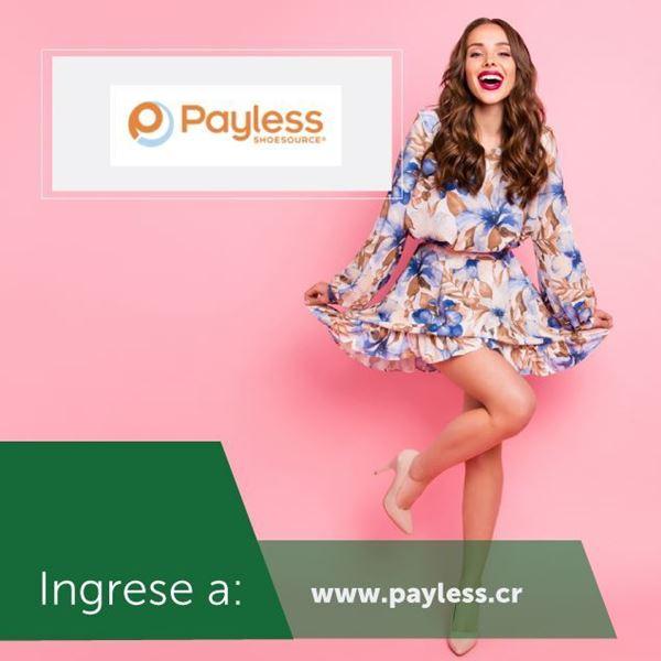 Foto de Sus compras en línea en www.payless.cr