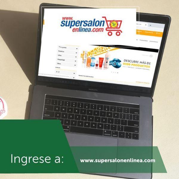 Foto de Sus compras en línea en www.supersalonenlinea.com