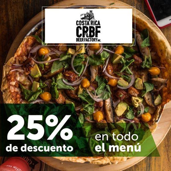 Foto de 25% de descuento en Costa Rica Beer Factory CRBF