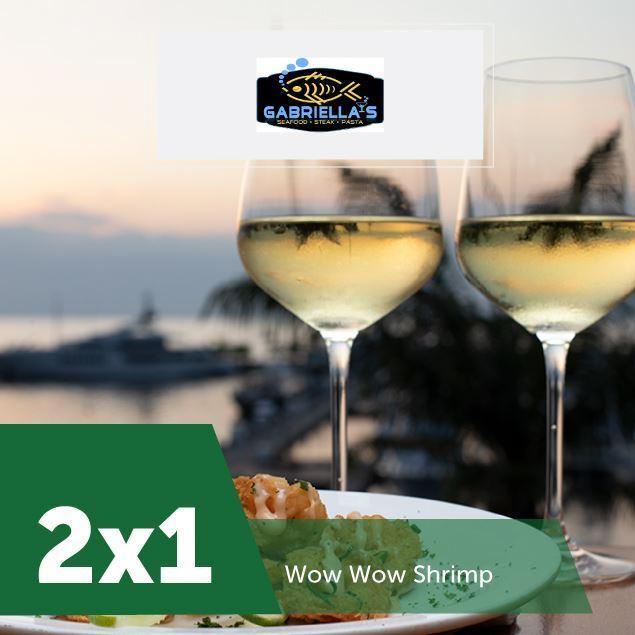 Foto de 2 x 1 en Gabriella´s Seafood en Marina Pez Vela