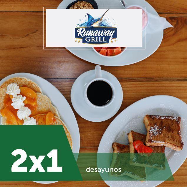 Foto de 2 x 1 en desayunos en Runaway