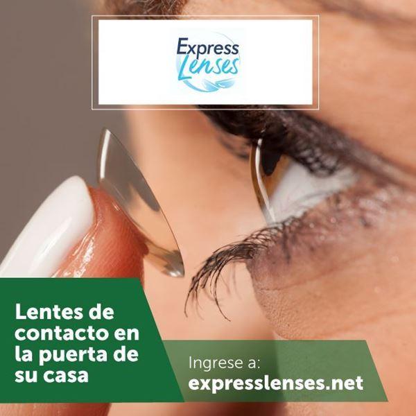 Foto de Compre en línea en Express Lenses
