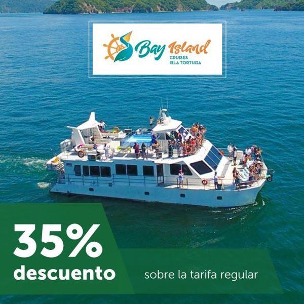 Foto de 35% de descuento en Bay Island Cruises Isla Tortuga