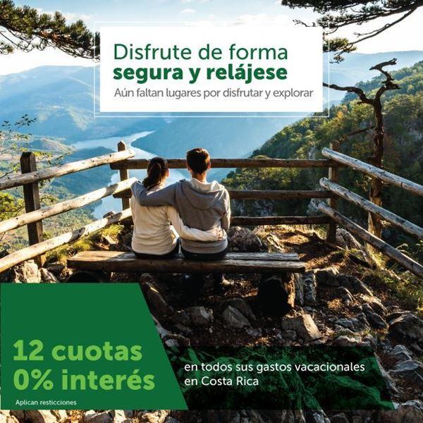 Foto de 12 Cuotas 0% interés en todos los gastos vacacionales en Costa Rica