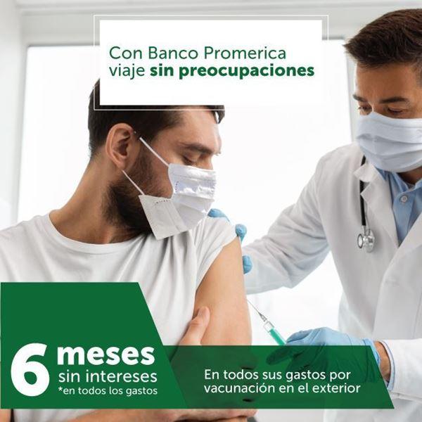 Foto de Todos sus gastos médicos por vacunación en el exterior a 6 meses sin intereses