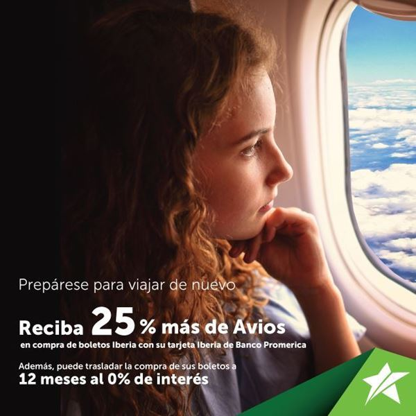 Foto de Reciba 25% más de Avios con su tarjeta Iberia