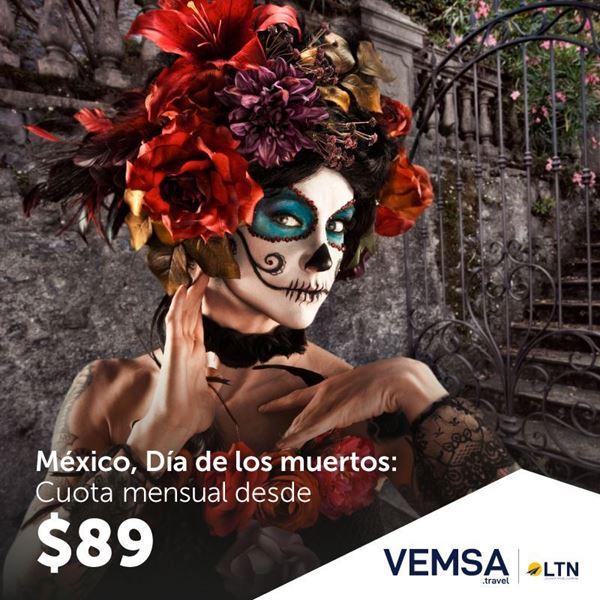 Foto de México Día de los Muertos a  12 cuotas 0% interés