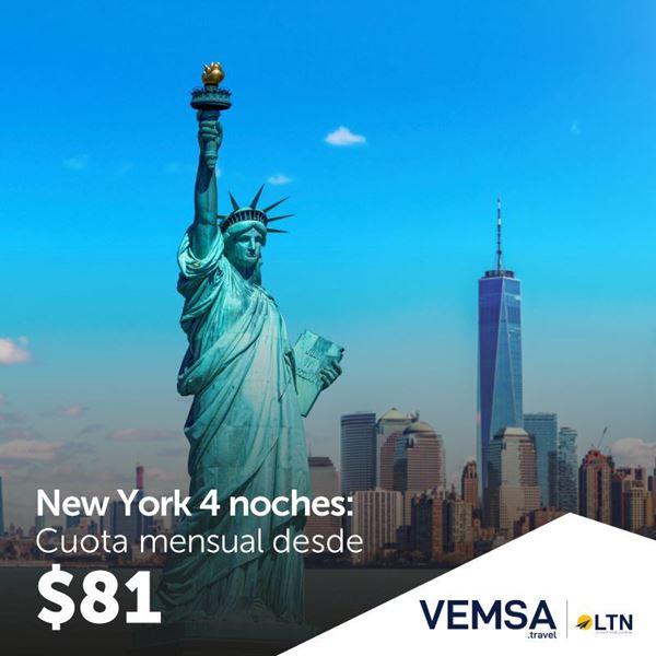 Foto de New York  a 12 cuotas 0% interés