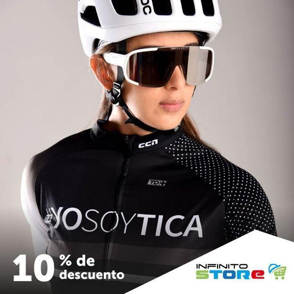 Foto de 10% de desc en jersy de cliclismo #YOSOYTICA
