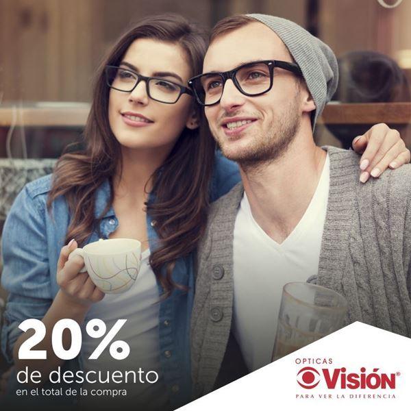 Foto de Descuento del 20%  en Opticas Vision