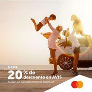 Foto de Hasta 20% de descuento en AVIS con sus tarjetas Mastercard