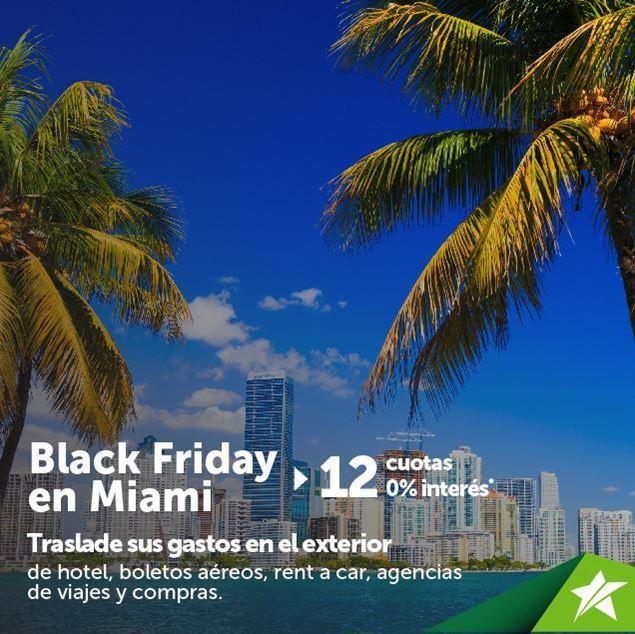 Foto de 12 cuotas 0% interés para el Black Friday en Miami
