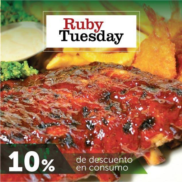 Foto de 10% de descuento en Ruby Tuesday