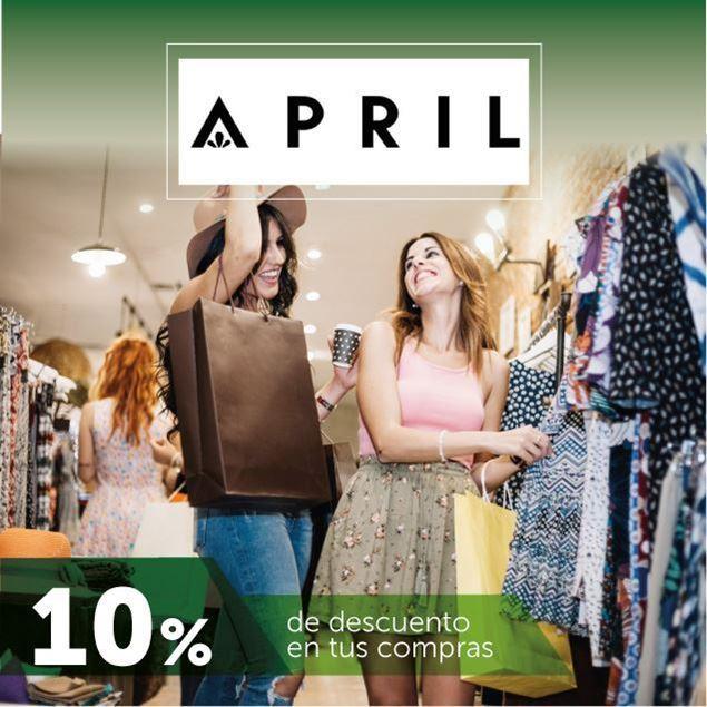 Foto de 10% de descuento en April