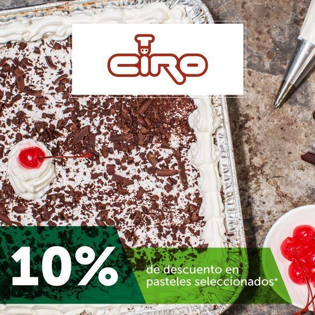 Foto de 10% de descuento en pasteles en Pastelería Ciro