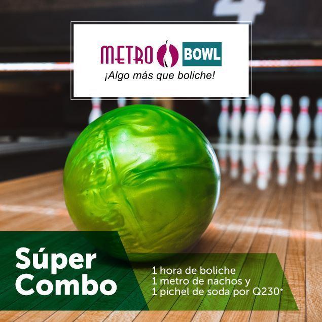 Foto de Súper combo de boliche en Metro Bowl
