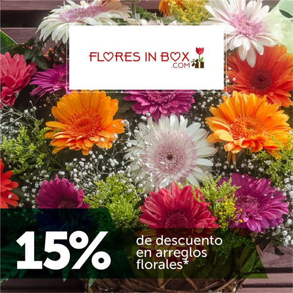 Foto de 15% de descuento en Flores In Box