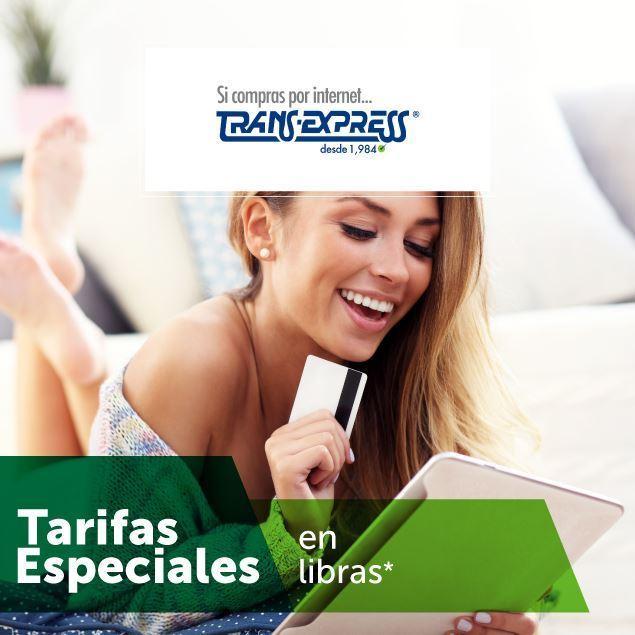 Foto de Tarifa Especial en libras en TransExpress