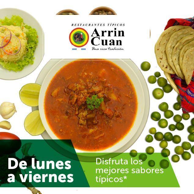 Foto de Precios especiales de lunes a viernes en Arrin Cuan