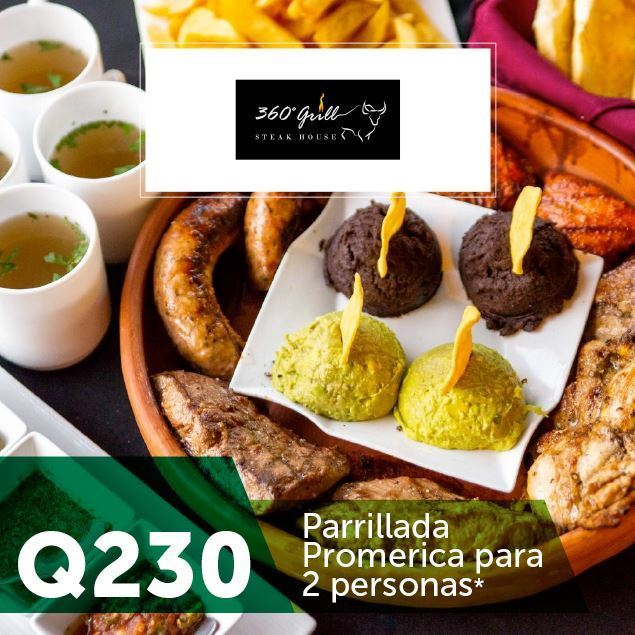 Foto de Parrillada Promerica en 360 Grill Steak House