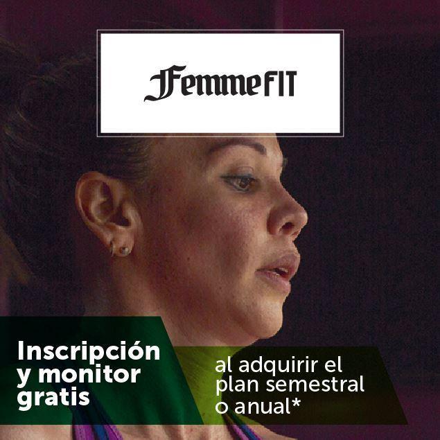 Foto de Inscripción y monitor gratis en FemmeFit