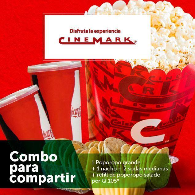 Foto de Combo para compartir  en Cinemark