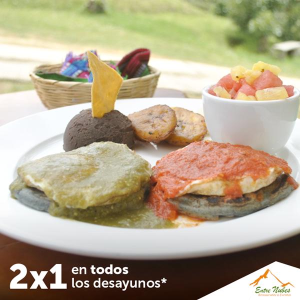 Foto de Entre Nubes - 2x1 en desayunos de lunes a viernes