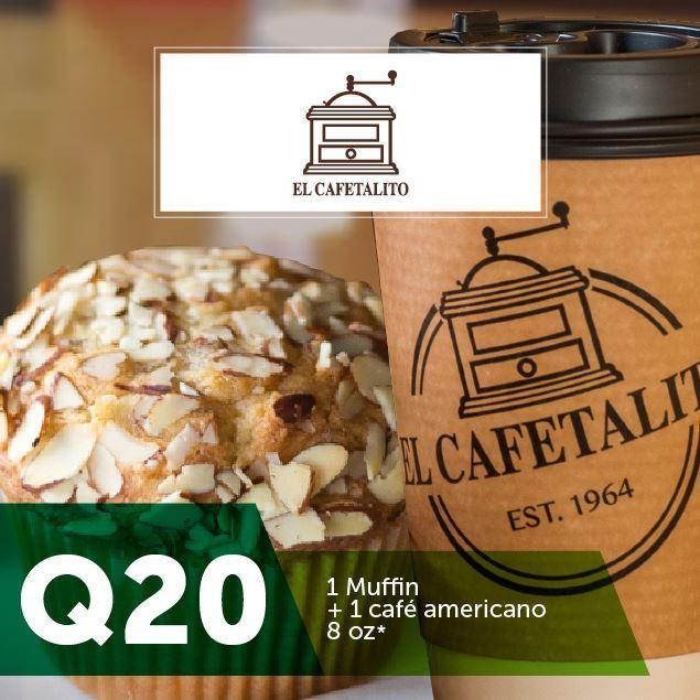 Foto de El Cafetalito - 1 Muffin + 1 café por Q20*