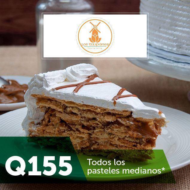 Foto de Todos los pasteles medianos a Q155 en Los Tulipanes
