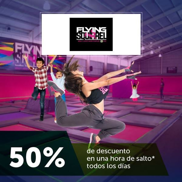 Foto de 50% de descuento  en Flying Squirrel
