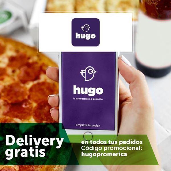 Foto de Delivery gratis en Hugo APP