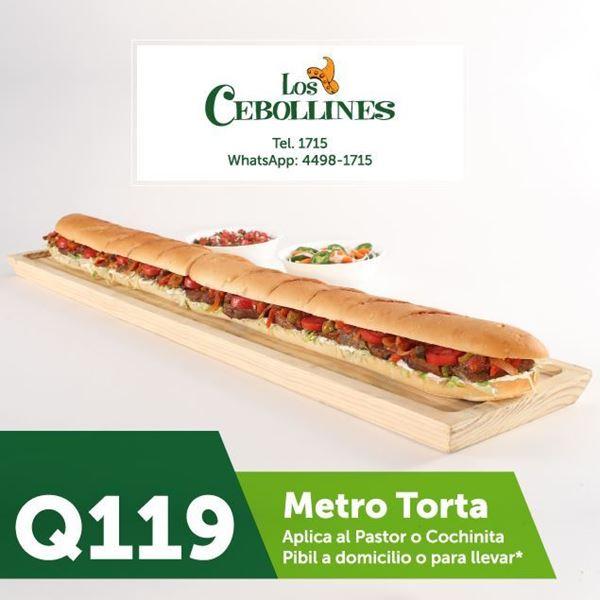 Foto de Metro Torta por Q119 en Los Cebollines