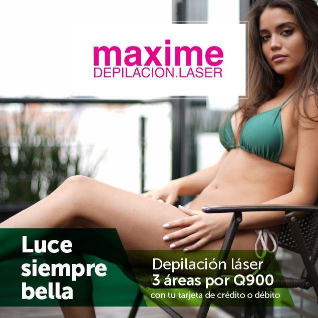 Foto de Depilación láser 3 áreas por Q900 en Maxime