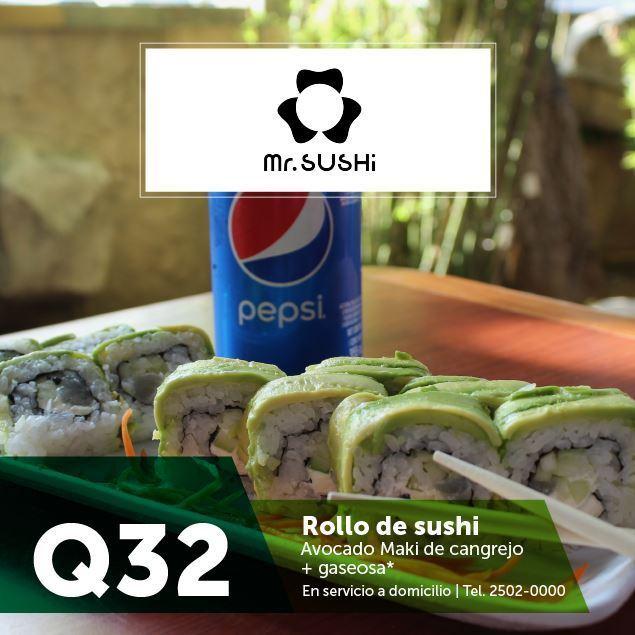 Foto de Combo Promerica en Mr. Sushi