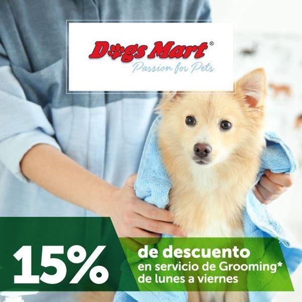 Foto de Dogs mart 15% de descuento en servicio de Grooming
